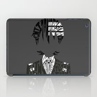 soul eater iPad Cases featuring death the kid soul eater by Rebecca McGoran