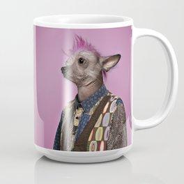 Punk Chinese Crested Dog Coffee Mug