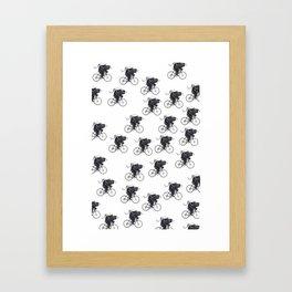 Critical Mass Bears Framed Art Print