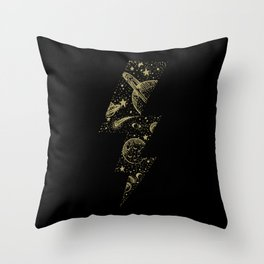 Space Bolt Throw Pillow