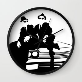 Blues Brothers Wall Clock