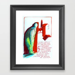 MECCANICA CELESTE Framed Art Print