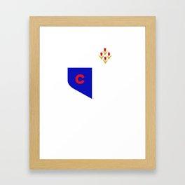 CraigTee Framed Art Print