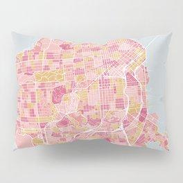 San Francisco map Pillow Sham