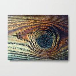 Knot Eye Metal Print