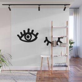 Follow / Unfollow Wall Mural