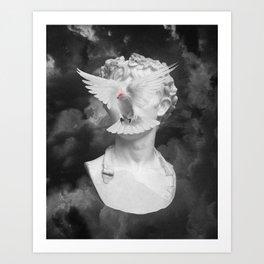 Esprit libre Art Print