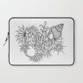 Bombshell Adult Coloring, Pin Up Design, Laptop Sleeve