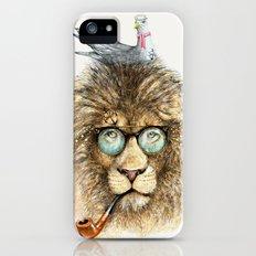 Lion sailor & seagull Slim Case iPhone (5, 5s)