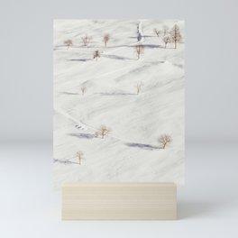 White Winterscapes I Mini Art Print