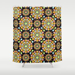 Fiesta Confetti Shower Curtain