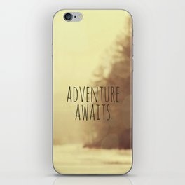 Adventure Awaits II iPhone Skin