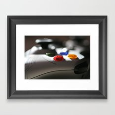xbox 360 Framed Art Print