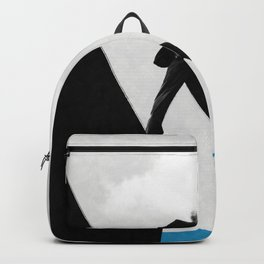 At the edge of the unknown ... Backpack