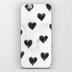 I drew a few hearts for you iPhone & iPod Skin
