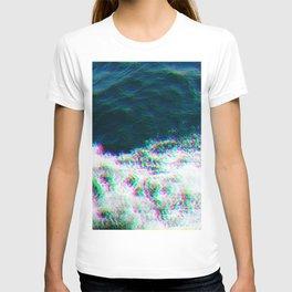 Oceanic Glitches - Ship Splash T-shirt