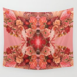 Red Bunch Wall Tapestry