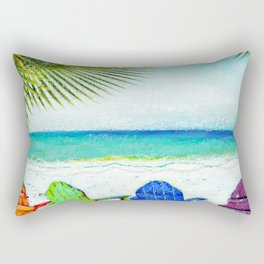 Casey Key Beach Life Rectangular Pillow