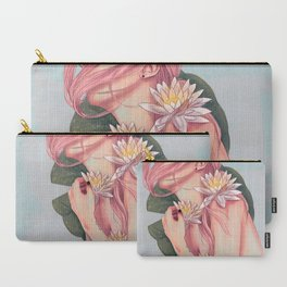 And She Loved Lillies Carry-All Pouch