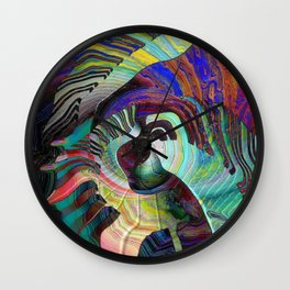 Keys To The Soul Wall Clock