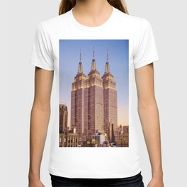Empire State Building Surreal New York Skyline T-shirt