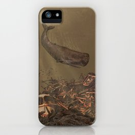 The Last Whale  iPhone Case