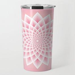 Pink Lotus Travel Mug