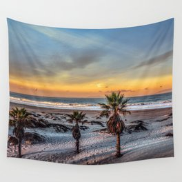 Wake up for Sunrise in California Wall Tapestry