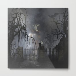 Darkness Comes Miss Piggy Returns Metal Print