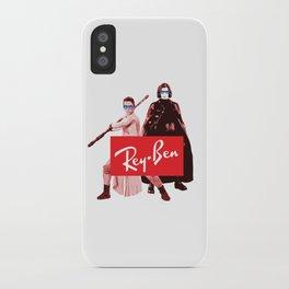 Star - Rey Ben Sunglasses - Wars iPhone Case