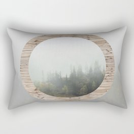 At the still point of the turning world. Rectangular Pillow