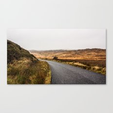 the Skyroad Canvas Print