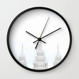 SLC LDS Temple Wall Clock