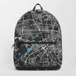 COLOGNE City Map - Germany | Black | More Colors, Review My Collections Backpack