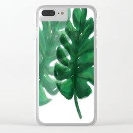 La Jungle Clear iPhone Case