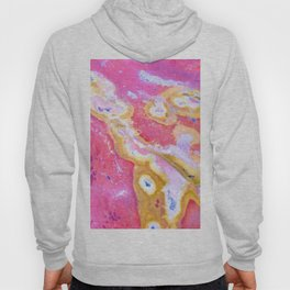 Rust Paint Formation Hoody