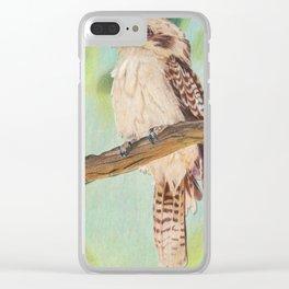 Kookaburra, Australian Bird Clear iPhone Case