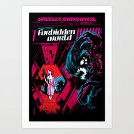 The Forbidden World Art Print