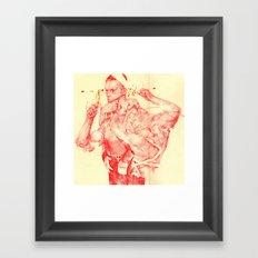 T-800 Framed Art Print
