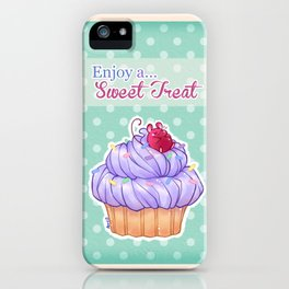 Cupcake Mouse iPhone Case