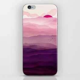 Ultra Violet Day iPhone Skin