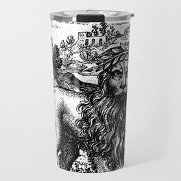 Theosophie & Alchemie - The Green Lion Travel Mug