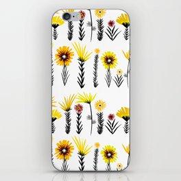 Sunny Days Ahead / floral art iPhone Skin