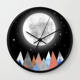 XXL MOON Wall Clock