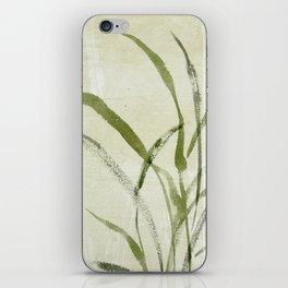 beach weeds iPhone Skin