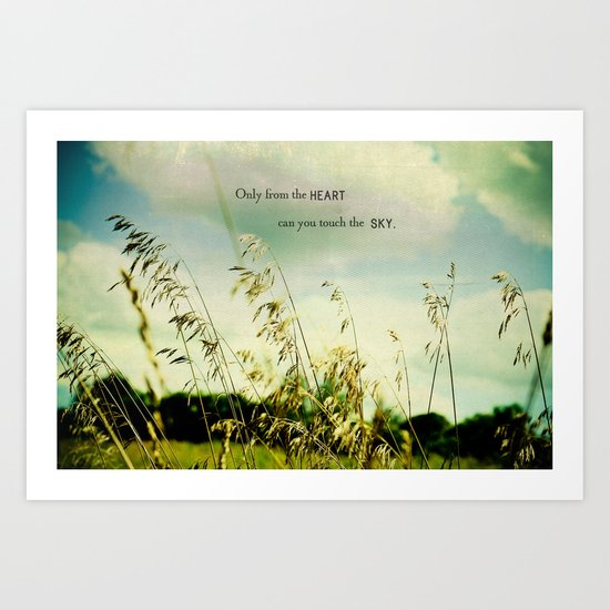 Only from the Heart Art Print