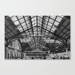 Liverpool Station Canvas Print