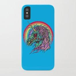 Zombie Unicorn iPhone Case