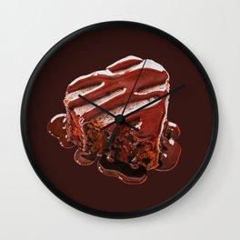 Heart Chocolate Cake_2 Wall Clock
