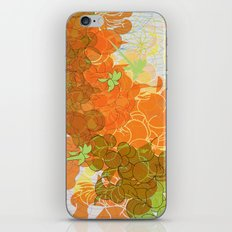 vegetal growth iPhone & iPod Skin